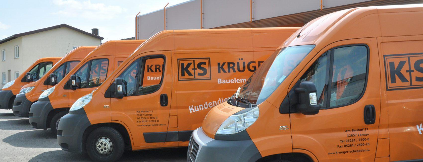 Fuhrpark von Krüger + Schröder