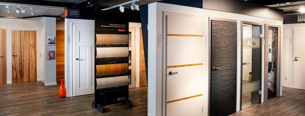 Ausstellung von Türen bei Krüger + Schröder